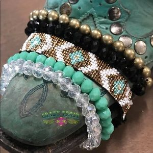 Gold Buckle Bracelet Collection
